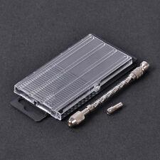Mini Micro Spiral Hand Manual Push Drill Chuck Twist Pin Vise Bit Jewelry Tool