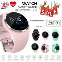 Women Sports Fitness Tracker Watch Waterproof Heart Rate Blood Pressure Monitor