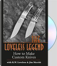 The Loveless Legend DVD/knife making/R.W. Loveless/knives