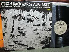 CRAZY BACKWARDS ALPHABET MATT GROENING Henry kaiser john french '87 rare lp SST!