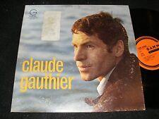 Hip Quebecois 1967 Singer Songwriter Lp CLAUDE GAUTHIER Gamma GENEVIEVE Clean!