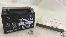 BATTERIA YUASA YTX9-BS  lung.150 larg.87 alt.105 mm