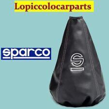Cuffia Cambio TUNING UNIVERSALE Ecopelle logo ricamato SPARCO BASIC 037541NRAR