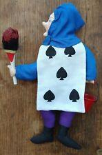 "Gladys Boalt Christmas Ornament ""Five of Spades"" 1986 Alice in Wonderland Series"