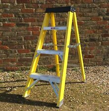 4 Tread Fibreglass Step Ladder  GRP Steps for Heavy Duty Industrial Use