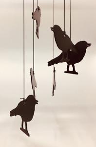 Robin Metal Wind Chime