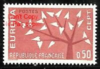 Timbre France Neuf  année 1962 N°1359