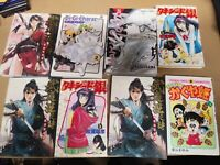 X8 Random Japanese Language Manga Anime No rips No missing Pages Freeshipping