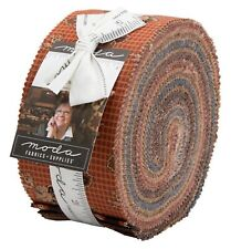 "Moda, Yesterday, Jelly Roll, 2.5"" Fabric Quilting Strips, 38100JR, J10"