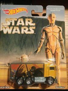 HIWAY HAULER McQuarrie Art Tatooine Droids Scene C 3PO Card STAR WARS Hot Wheels