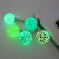 Headset Headphone Anti Dust Plug Cute Gifts Phones 3.5mm Jack Universal Glow LY