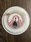 Antique Flue Or Stove Pipe Cover- Flowers -Colonial- Southern Belle- Victorian-
