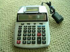 Canon P23-Dh Clock & Calendar 12 Digit Printing Calculator - Plus 3 Rolls Paper