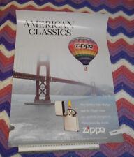 American Classic's Golden Gate Bridge & Zippo Lighter Poster
