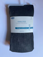 New Old Navy Sz S/M Black Gold Metallic Women's Tights Control Top Small Med NWT