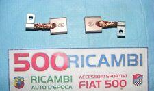 FIAT 500 F/L/R KIT COPPIA SPAZZOLE MOTORINO DI AVVIAMENTO MOTORE IMP. ELETTRICO