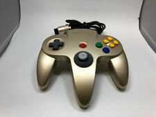 Nintendo 64 Official  color Gold  Controller N64 GREAT STICK Controller