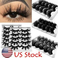 Thick Long 3D Soft Mink Hair 25mm Lashes Eye Lash Extension False Eyelashes