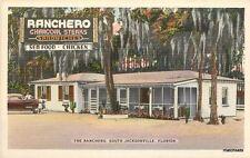 1940s Ranchero Restaurant roadside Jacksonville Florida Colorpicture 4501