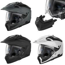 Nolan N70-2 X Classic N-Com Adventure Motorcycle Helmet Off Road Black White