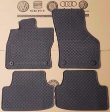VW Golf 7 original Fußmatten Gummimatten vorne + hinten GTD Gummifußmatten MK7