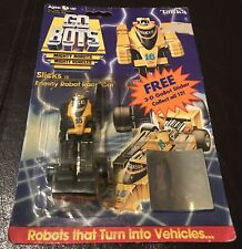 1984 Tonka Gobots SLICKS with Card and Bubble (OPENED). RARE!