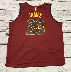 NBA Fanatics Fastbreak 2017 Cleveland Cavaliers Lebron James 23 Road Jersey 2XL