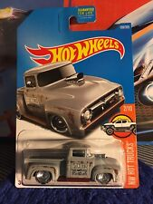 2017 Hot Wheels Custom '56 Ford Truck Custom Made with Real Riders!