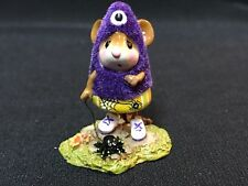 WEE FOREST FOLK SPECIAL PURPLE SPIDER CUSTOM MONSTER  SOLD OUT