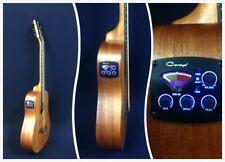 "Caraya Safair 34"" EQ Electro-Acoustic Guitar,All-mahogany,Matt+Free gig bag"
