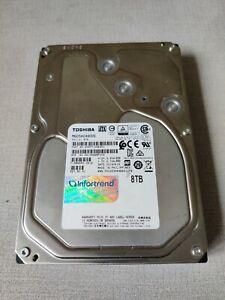 "Toshiba 8TB MG05ACA800E 7200RPM 128MB SATA 3.5"" HDD Hard Drive NAS"