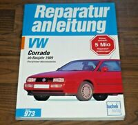 VW Corrado 4-Zyl. 1989-1995 Motor Getriebe Fahrwerk Elektrik WERKSTATT HANDBUCH