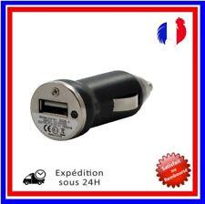 Universel Adaptateur Secteur Chargeur De Voiture Allume-Cigare Noir Un Port USB
