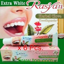 6 x 30 g ISME RASYAN THAI HERBAL CLOVE TOOTHPAST WHITENING  TEETH ANTI BACTERIA