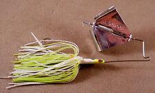 Bass Fishing Lure 3/8 oz. DR Custom Large Flat Frog Buzz Bait, Spinnerbait