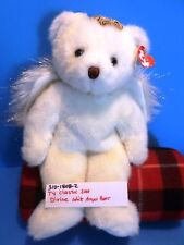 Ty Classic Divine the White Angel Bear 2001 plush(310-1808-2)