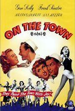 On The Town - Region 2 Compatible DVD (UK seller) Frank Sinatra, Gene Kelly NEW