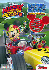Mickey Roadster Racers coloring book RARE UNUSED