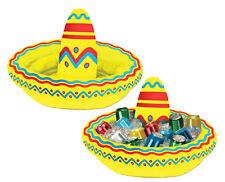 "18"" Sombrero Sombrero Inflable Enfriador cinco de mayo Verano Fiesta Decoración BG50254"