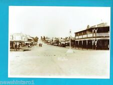 #T50.  MODERN  PHOTOGRAPH  OF  EARLY  MOLONG NSW, BANK STREET