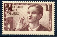 PROMOTION / TIMBRE DE FRANCE NEUF N° 418 * OEUVRES LA RADIO AUX AVEUGLES