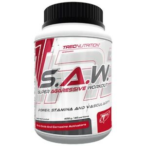 TREC S.A.W. 400g MUSCLE STRENGTH, SUPER ANABOLIC PRE-WORKOUT CREATINE STACK SAW