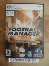 ELDORADODUJEU >>> FOOTBALL MANAGER 2009 Pour PC/MAC VF COMPLET CD COMME NEUF