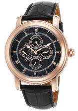 Lucien Piccard Valarta Retrograde Day Mens Watch LP-40009-RG-01