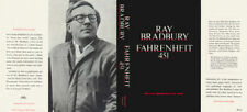 Ray Bradbury FAHRENHEIT 451 1967 black edition facsimile jacket