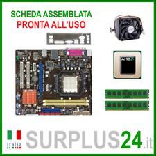 ASUS M2N68-AM PLUS + ATHLON II X3 445 + 4GB RAM|Kit Scheda Madre AM2 I/O #2064