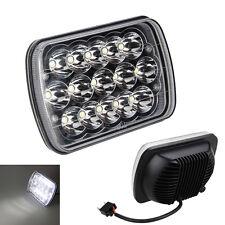 7X6'' 4W LED Headlights HID Light Bulbs Crystal Clear Sealed Beam Headlamp