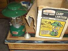 Vintage Thermos Camp Lantern Model 8326 Big Hat Double Mantle Gas