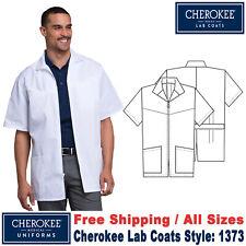Cherokee Scrubs Men's Zip Front LAB COATS Style 32 Inch Jacket 1373