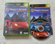 Jeu Xbox 1ere génération Project Gotham racing 2 pal notice